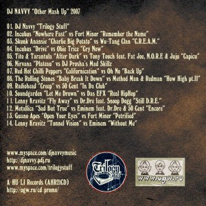 DJ NAVVY - Other Mash Up(UGW.RU Exclusive!!!) CD_back